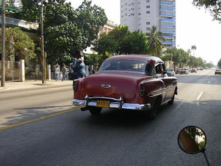 Classical American cars in Cuba