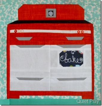 Sew Retro Oven for Marieka