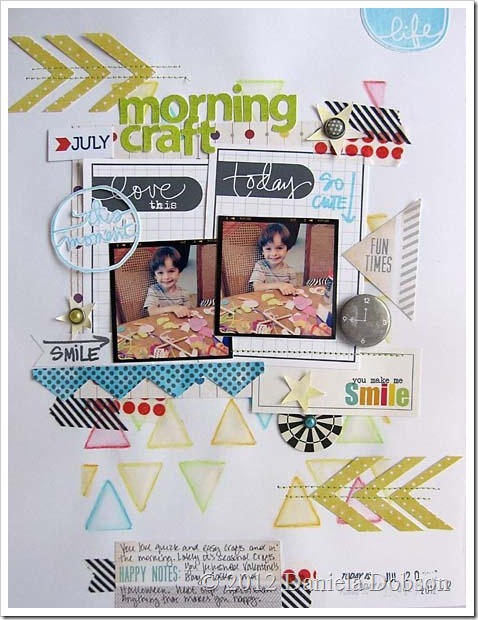 Morning craft Daniela Dobson