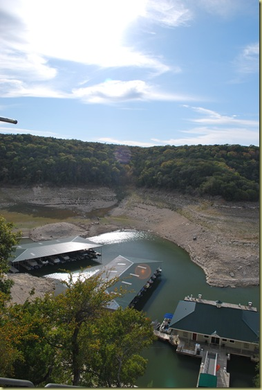 Rough Hollow General Store and Marina drought