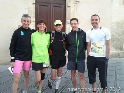 équipe runnosphère au marathon de montpellier