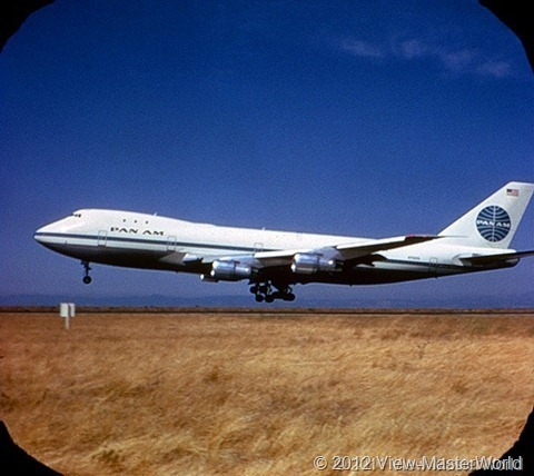 View-Master Pan Ams 747 (B747), Scene 2_2: Take Off