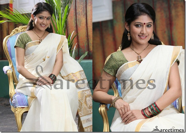 Akhila_White_Traditional_Saree