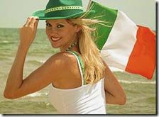 Donna irlandese