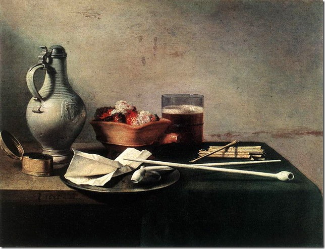 Pieter Claesz_Tobacco-Pipes-and-a-Brazier