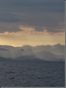 ternate to samal island view from the water