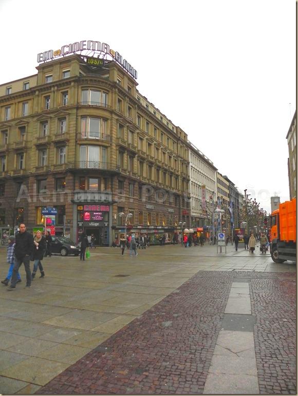 A Königstraße Stuttgart