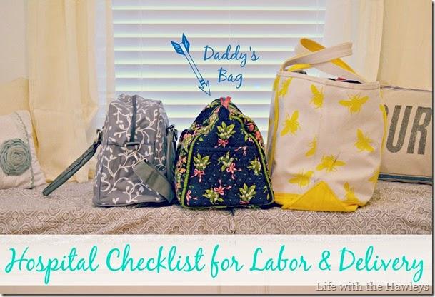 Daddys Hospital Bag