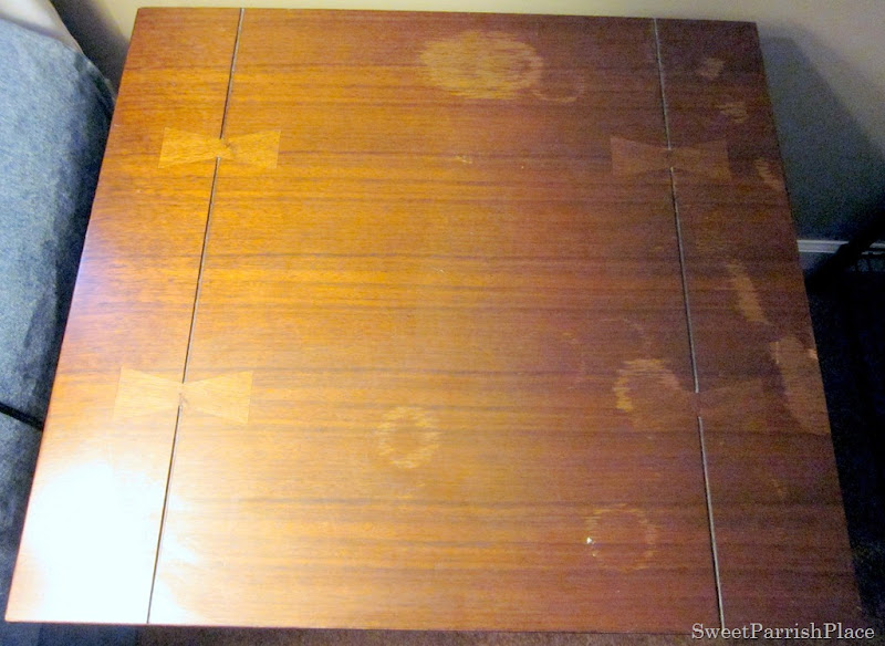 Trashtastic Tuesday How To Remove Water Stains From Wood Sweet
