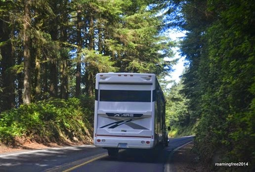 Narrow, twisty roads
