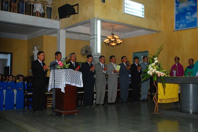Lễ tuyên hứa của tân Hội Đồng Giáo Xứ Qui Đức