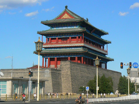 Beijing: Qienanmen square