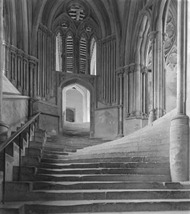 Sea of Steps -  Wells Cathedral - Frederick Evans