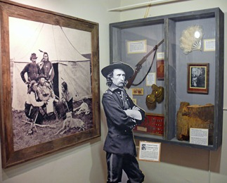 Custer Museum Exhibit
