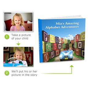Shutterfly Alphabet Adventure Book