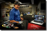 Phil Mickelson with his udesigned RAZR Fit driver
