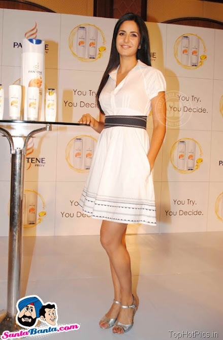 Katrina Kaif Hot Stills in White Stylish Dress 5