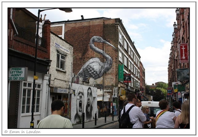 Roa's Crane Hanbury Street London