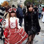 Lolita girls in Harajuku, Tokyo, Japan