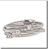 Marco Bicego White Gold and Diamond Ring
