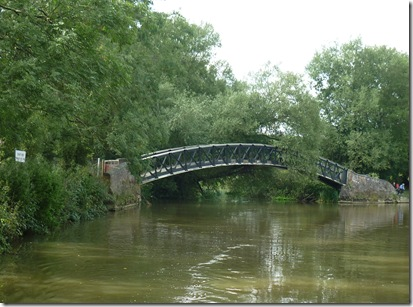 towpath bridge over the cherwell