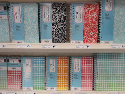 They also have fun notebooks.
