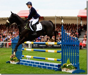 Zara Phillips riding GlenBuck