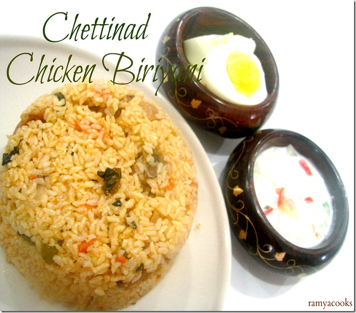 chettinadu chicken biriyani