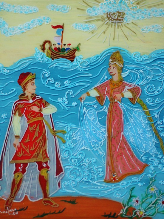 Pushkin Czar Sultan Tale