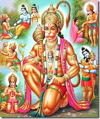 Hanuman and his activities