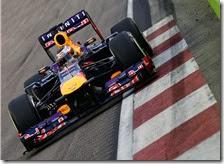 Vettel domina il gran premio di Singapore 2013