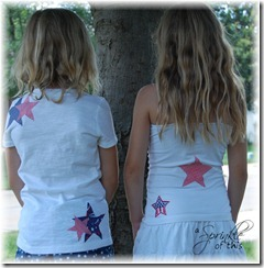 4th of July Shirts Back {A Sprinkle of This . . . . A Dash of That}