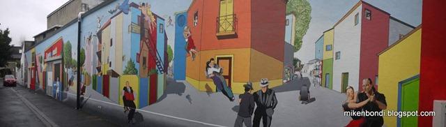 Tarbes mural