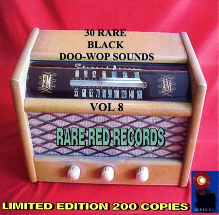 Rare Black Doo-Wop Sounds Vol. 08 - 31 Front