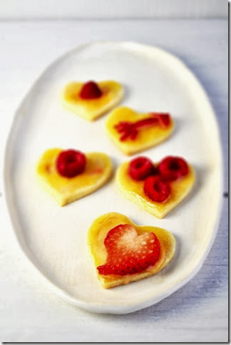 Lemon Curd and Fruit cookies