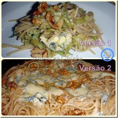 espaguete 3 cereais 2 versões