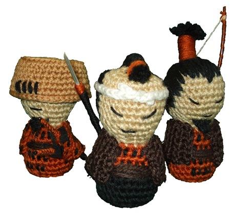 Samukokes del Clan del Bosque por La Costurera Ninja