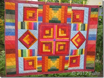 Quilt032-Indianer Muster