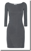 James Perse cotton blend jersey dress