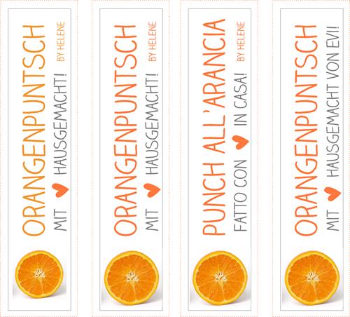 Orangenpuntsch