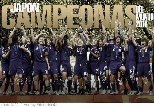 'Japón Campeón Mundial 2011' photo (c) 2011, Audrey Pilato - license: http://creativecommons.org/licenses/by/2.0/