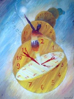 O alegorie a timpului - Pictura
