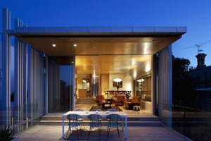 terraza-Casa Brown Vujcich Bossley Architects