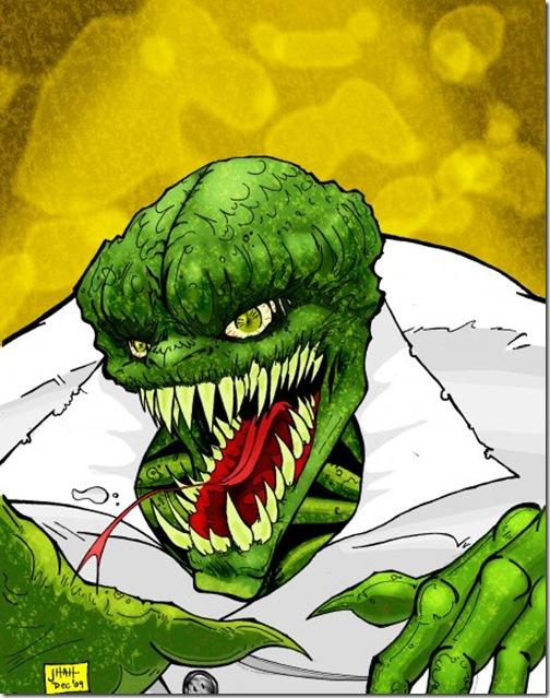 El Lagartom, Lizard,  Dr. Curt Connors (32)