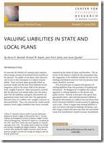 VALUING LIABILITIES IN STATE AND