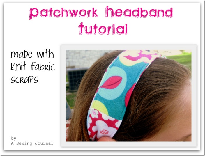 Patchwork Headband Tutorial title