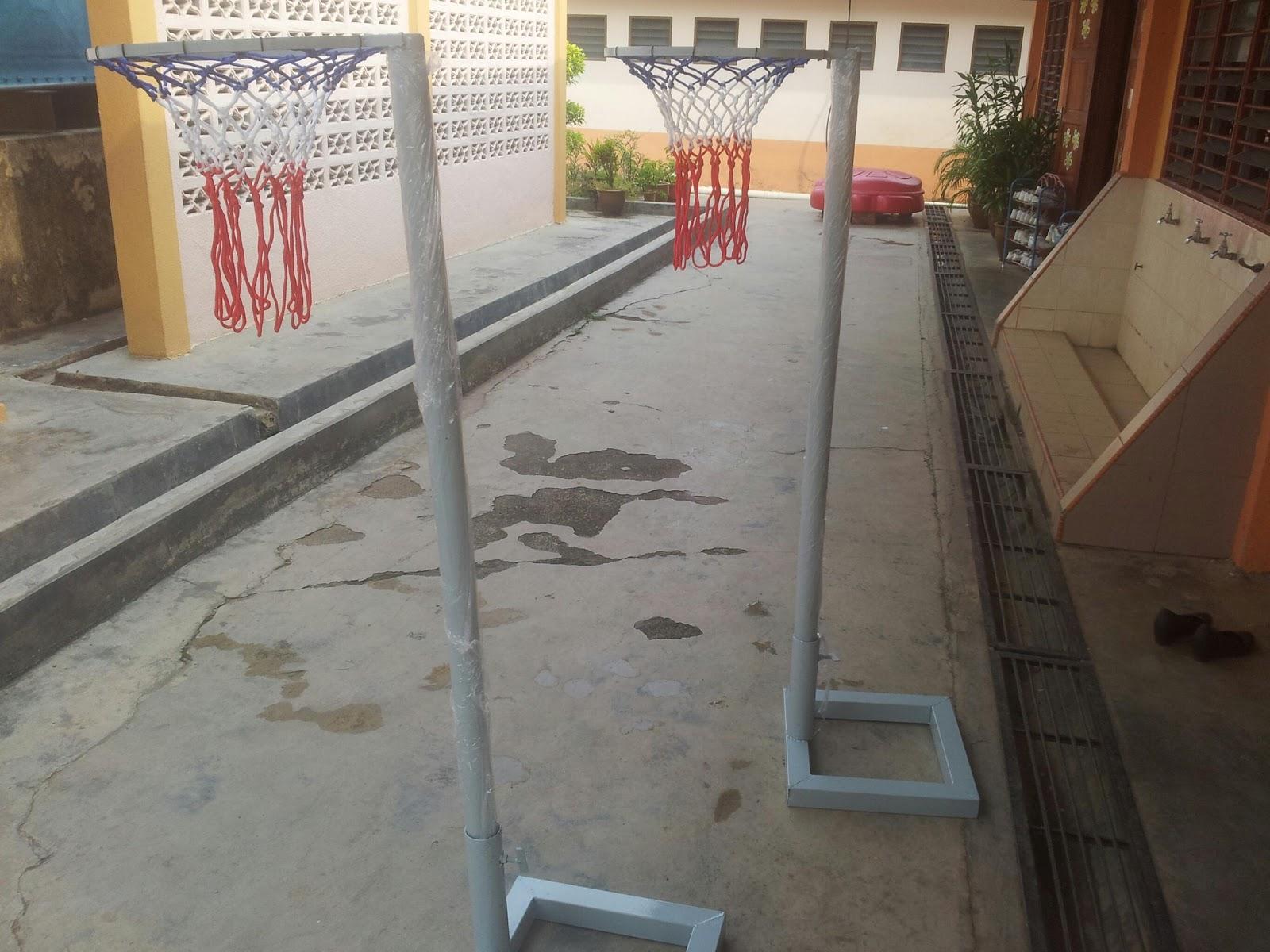 Telaga Bakti Supplier Tiang Gol Bola Jaring Saiz Prasekolah