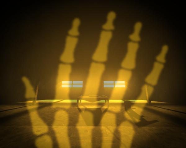 لعبة عظام الأصبع Fingerbones لعبة رعب لويندوز و ماك