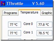 Intervento automatico se la temperatura del processore e scheda video è troppo alta
