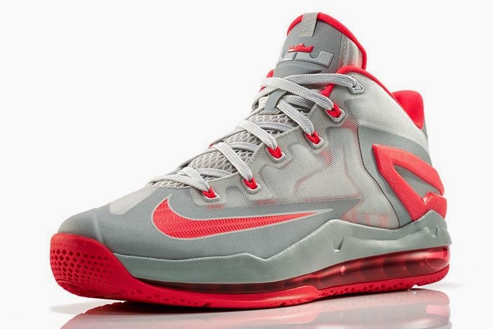"""Release Reminder: Nike Max LeBron XI Low """"Laser Crimson ..."""